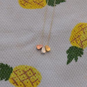 Jewelry - Minimalist Gold, Silver and Rose Gold Necklace